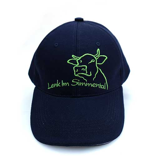 Simmentaler Kuh auf Cap