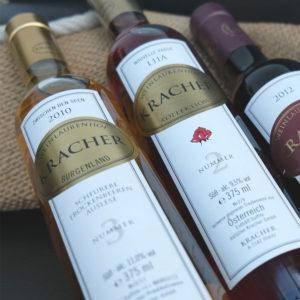 Strubel Wein: Österreichischer Wein in der Schweiz, Süssewein