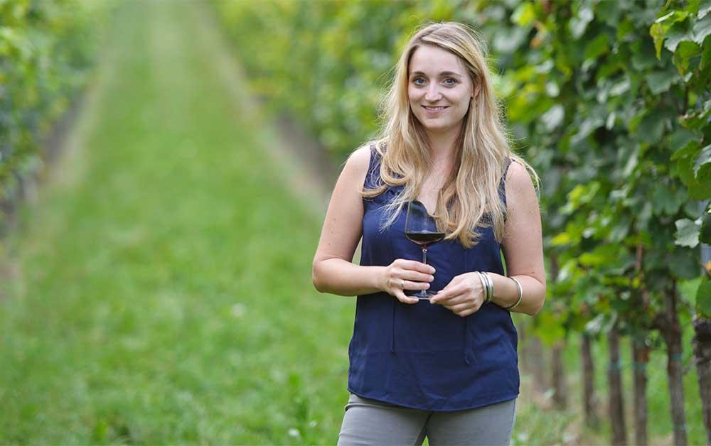 Österreichischer Wein in der Schweiz, Chirstina Netzl