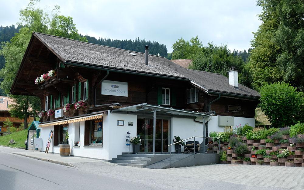 Österreichischer Wein in der Schweiz, bei Strubel Sport