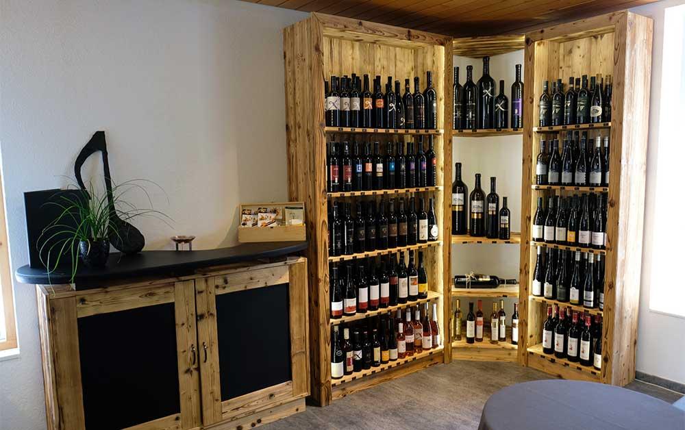 Österreichischer Wein in der Schweiz, Weinecke Strubel Wein