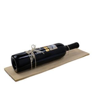 Strubel Privat Cuvée auf der Holzschindel