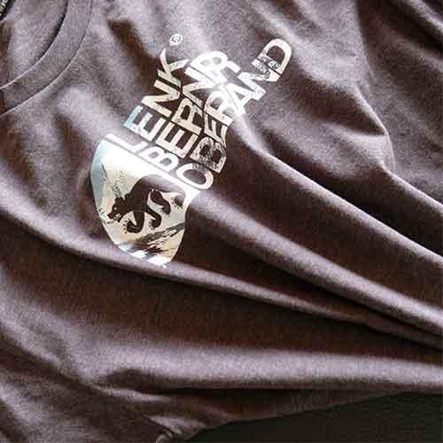 T-Shirt aus Lenk mit berner Bär