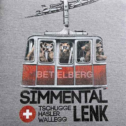 Lenk T-Shirt mit Gondeli und Bären