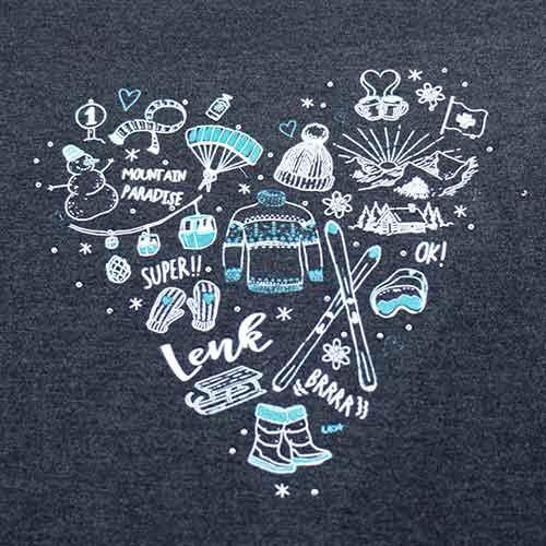 attraktives Damen T-Shirt, Lenk