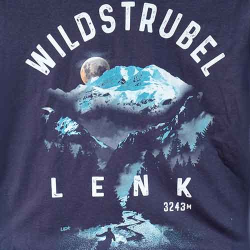 Lenk T-Shirt mit Wildstrubel